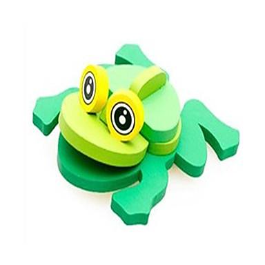 voordelige 3D-puzzels-3D-puzzels Steekpuzzels Houten modellen Kikker Plezier Hout Klassiek Kinderen Unisex Speeltjes Geschenk