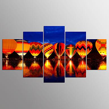 Estampados de Lonas Esticada Paisagem Modern, 5 Painéis Tela de pintura qualquer Forma Estampado Decoração de Parede Decoração para casa