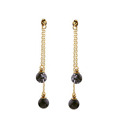 Mulheres Cristal Longas Brincos Curtos - Personalizada, Euramerican Preto Para Housewarming / Obrigado / O negócio