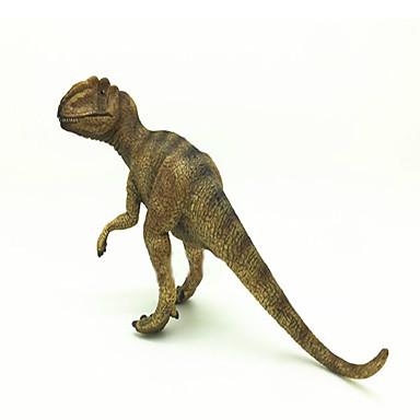 Dragões & Dinossauros Brinquedos Figuras de dinossauro tiranossauro Dinossauro jurássico Triceratops Tiranossauro Rex Plástico Crianças