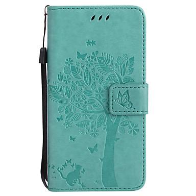 Capinha Para Samsung Galaxy J7 Prime J5 Prime Porta-Cartão Carteira Com Suporte Flip Estampada Com Relevo Capa Proteção Completa Gato
