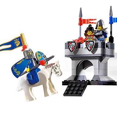 ENLIGHTEN Blocos de Construir Apito Brinquedos de Montar Brinquedo Educativo Guerreiro Instrumento Musical de Brinquedo Brinquedos Dom