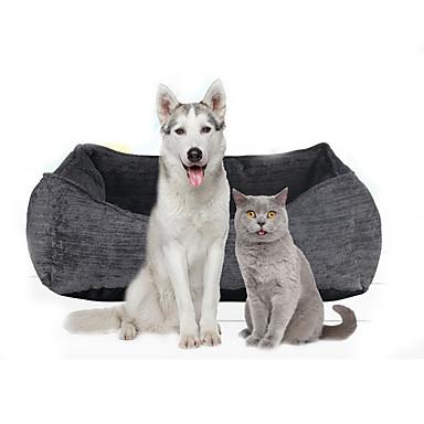 5198227359a9 Γάτα Σκύλος Κρεβάτια Κατοικίδια Χαλάκια   Μαξιλαράκια Μονόχρωμο Moale  Γκρίζο Για κατοικίδια