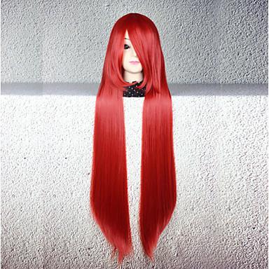 Perucas de Cosplay Fantasias Fantasias Anime Perucas de Cosplay 80 CM Fibra Resistente ao Calor Mulheres