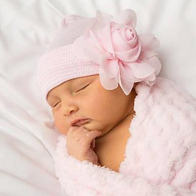 Recém-Nascido Unisexo Algodão / Fibra Sintética Acessórios de Cabelo Azul / Branco / Rosa Tamanho Único / Bandanas