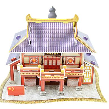 Puzzle 3D puzzle Stavební bloky DIY hračky Architektura Papír Modelování