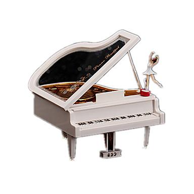 Caixa de música Piano Tamanho Grande Rotativo Adulto Infantil Dom Unisexo