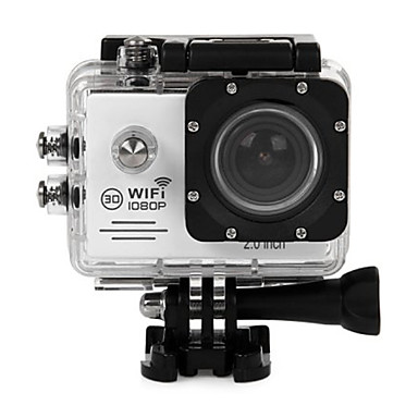 cheap Sports Action Cameras-SJ7000 12 mp Gopro Gopro & Accessories Outdoor Recreation 1280x960 Pixel Waterproof / Multi-function / WiFi 60fps -1/3 2 inch CMOS 64 GB H.264 Burst Mode 45 m / USB / Anti-Shock / LED / Wide Angle
