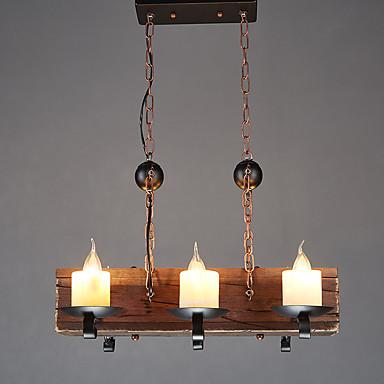 Luzes Pingente Luz Descendente - Estilo Mini, Regional Tradicional / Clássico Retro, 110-120V 220-240V Lâmpada Não Incluída