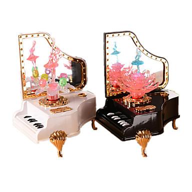Caixa de música Plástico Piano Presente Unisexo Dom