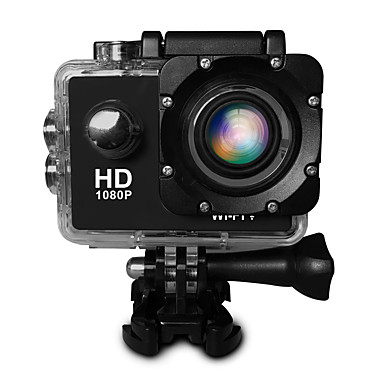 SJ4000 Action Kamera / Sportskamera 20 mp 4608 x 3456 pixel Wifi / Justerbar / Vidvinkel 30fps ± 2EV CMOS 32 GB H.264 Enkelt bilde /