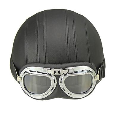 0f664fc5 Half Helmet Adults Unisex Motorcycle Helmet UV Protection / Sunscreen /  Ultra Light