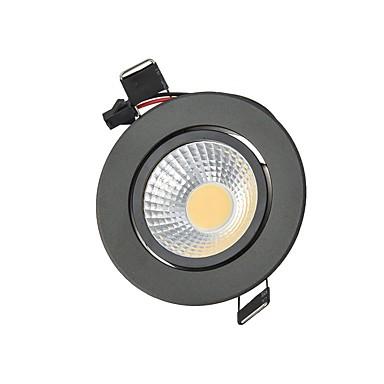 3W 250 lm 2G11 Downlight de LED Encaixe Embutido 1 leds COB Decorativa Branco Quente Branco Frio AC85-265