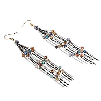 저렴한 패션 귀걸이-여성용 크리스탈 개인화 유니크 디자인 Euramerican 귀걸이 보석류 무지개 제품 결혼식 파티 생일 선물