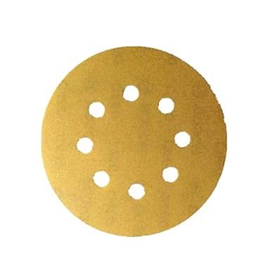 Bosch Sand Schüssel 125mm p320-8 Loch zurück Stapel Sand Scheibe Sand Papier / 10 Stück