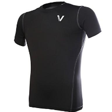 Unisexo Gola Redonda Camiseta de Corrida - Preto Esportes Pulôver / Blusas Exercício e Atividade Física, Corrida Roupas Esportivas