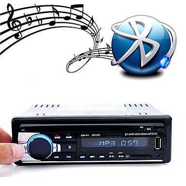 jsd-520 bil dvd-spelare ljud stereo bilradio bluetooth fm aux ingång mottagare usb disk sd kort