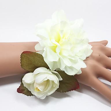 Bouquets de Noiva Buquês Buquê de Pulso Outros Casamento Ocasião Especial Festa / Noite Ao ar livre Material Faixa Elástica 0-20cm