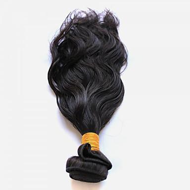 Cabelo Peruviano Ondulado Natural Tramas de cabelo humano 1 Cabelo Humano Ondulado