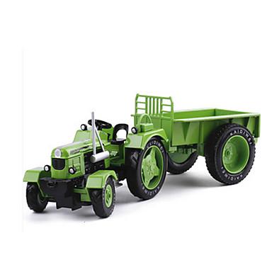 KDW Leluautot Taaksepäin vedettävät ajoneuvot Rakennusajoneuvo Traktori Lelut Retro Auto Metalliseos Vintage Retro Pieces Unisex Lahja