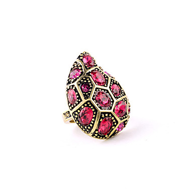 Dámské Prsten Jedinečný design Přizpůsobeno Cute Style Slitina Šperky Pro Svatební Párty Narozeniny