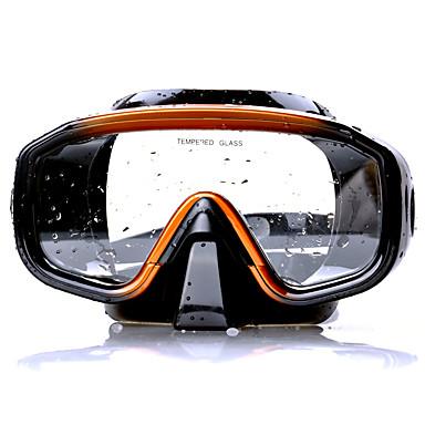 Máscara de Mergulho Máscara de Snorkel Protecção Natação Mergulho Eco PC Mistura de Material