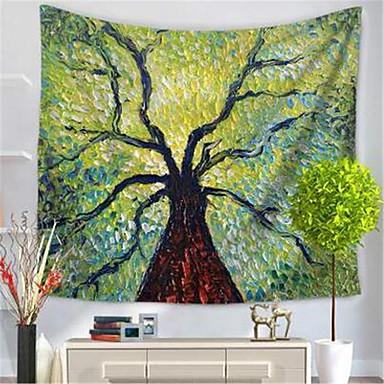 Blumen / Botanik Wand-Dekor Polyester / Polyamid Klassisch Wandkunst, Wandteppiche Dekoration