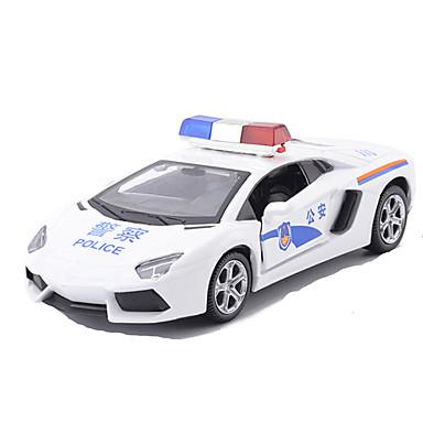 Spielzeug-Autos Modellauto Rennauto Polizeiauto Simulation Unisex