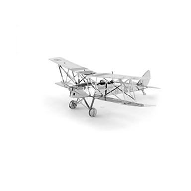 voordelige 3D-puzzels-3D-puzzels Modelbouwsets Vliegtuig Vechter Plezier Roestvast staal Klassiek Kinderen Unisex Speeltjes Geschenk