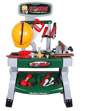 Ferramentas de Construção Brinquedos de Faz de Conta Ferramentas de Brinquedo Caixas de Ferramentas Brinquedos Segurança Plásticos