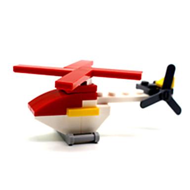 ENLIGHTEN Blocos de Construir Quadrada Aeronave Para Meninos Unisexo Dom