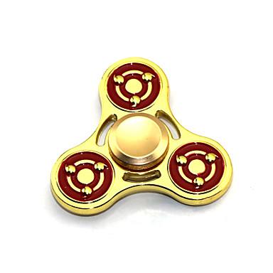 Fidget Spinner Inspirado por Naruto Sasuke Uchiha Anime Acessórios para Cosplay cromada