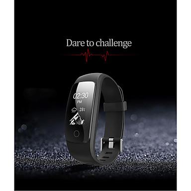 Smart-Armband iOS AndroidWasserdicht Long Standby Verbrannte Kalorien Schrittzähler Gesundheit Sport Herzschlagmonitor Wecker Touchscreen
