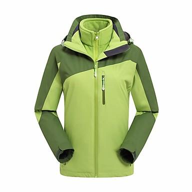 Pánské Dámské Bundy 3 v 1 Outdoor Zima Teplý Proti UV-záření Zahřívací Větruvzdorné Nositelný Prodyšné Kalhoty