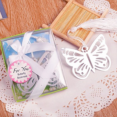 kovový motýl bookmark beter gifts® favor