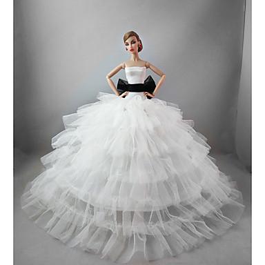 Svatební Šaty Pro Barbie Doll Pro Dívka je Doll Toy