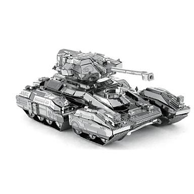 3D puzzle Kovové puzzle Hračky Tank Nerezová ocel Unisex Pieces