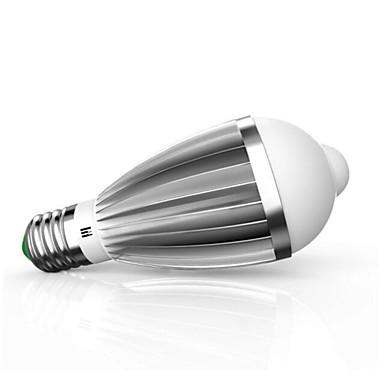 9W 880lm E26 / E27 Lâmpada de LED Inteligente G60 18 Contas LED SMD 5630 Sensor infravermelho Controle de luz Sensor do corpo humano