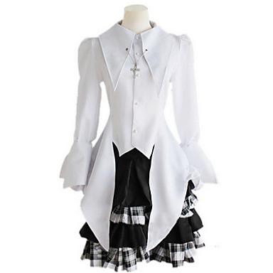 Cosplay šaty Šaty Inspirovaný Cosplay cosplay Anime Cosplay Doplňky Více doplňků Polyester Dámské nový horký