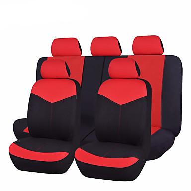 Capas para Assento Automotivo Capas de assento Bege Cinzento Vermelho Azul Rosa claro Pele Comum