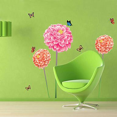 Autocolantes de Parede Decorativos - Autocolantes de Aviões para Parede Animais Floral Desenho Animado Sala de Estar Quarto Banheiro