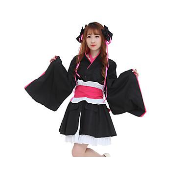 Ternos de Cosplay Vestidos Peça para Cabeça Mais Acessórios Inspirado por Fantasias Fantasias Anime Acessórios para Cosplay Vestido Cinto