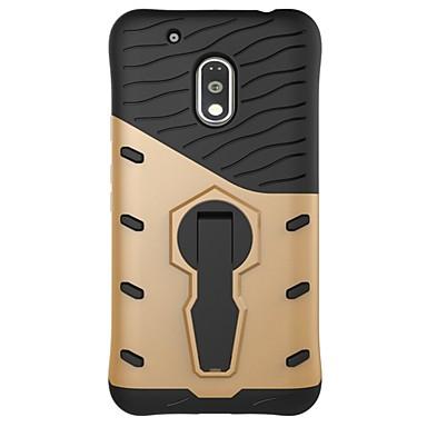 Capinha Para Motorola Antichoque Com Suporte Capa traseira Armadura Rígida PC para Moto Z Force Moto Z Moto X Play Moto G5 Além disso,