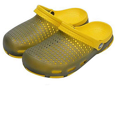 Miehet Sandaalit Kevät Siannahka Keltainen Sininen Pinkki Tasapohja