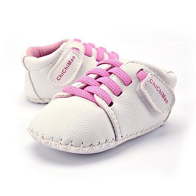 Kinder Baby Schuhe Kunststoff Sommer Herbst Lauflern Loafers & Slip-Ons Elastisch für Normal Party & Festivität Kleid Blau Rosa