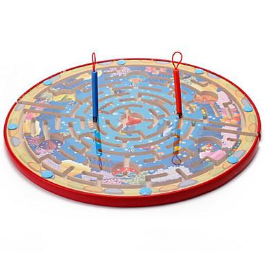 Muwanzi Jogos de Tabuleiro / Labirintos Magnéticos Magnética / Tamanho Grande De madeira Peças Crianças Dom