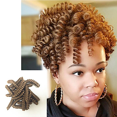 curlkalon kenzie curls kanekalon crochet braids 20inch braiding curls natural looking kinky twisted freetress synthetic curly braiding hair extension