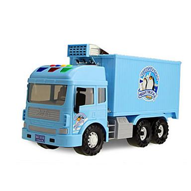 Leluautot Taaksepäin vedettävät ajoneuvot Leikkiauto Traktori Lelut Sähköinen Auto Metalliseos Pieces Unisex Lahja