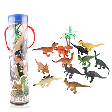 Draci a dinosaury Hračky Obrázky dinosaurů Velociraptor Jurský dinosauř Triceratops Tyrannosaurus rex Plastický Dětské Pieces
