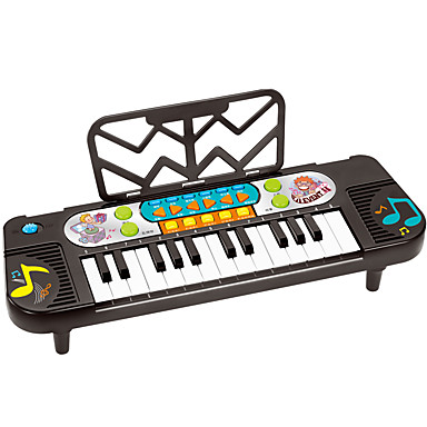 hesapli Oyuncaklar ve Oyunlar-Oyuncak Bebek Aksesuarları Elektronik Klavye Piano Piano Eğlence Plastikler Çocuklar için Genç Erkek Oyuncaklar Hediye